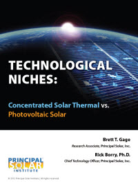 Technological Niches: Concentrated Solar Thermal vs. Photovoltaic Solar
